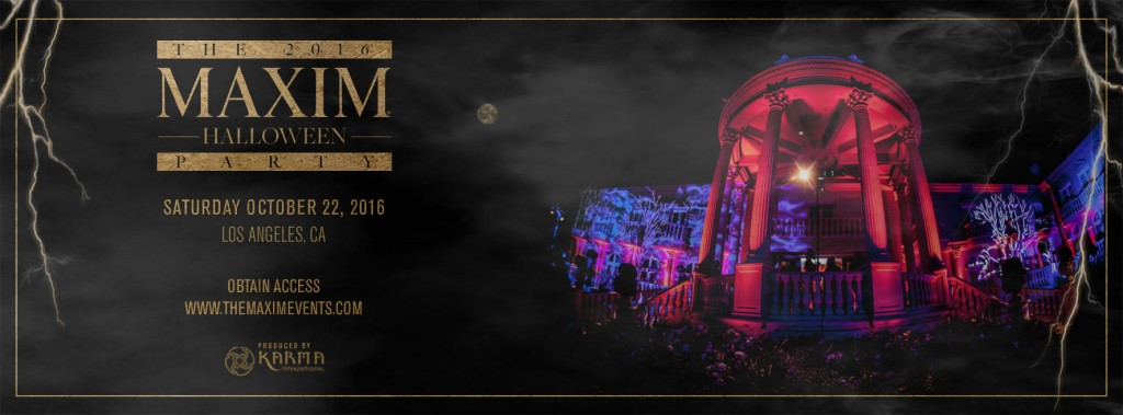 Maxim Halloween Party 2016