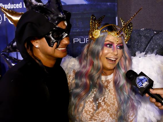 2016 Maxim Halloween Party Dan Bilzerian Emily Sears Chris Brown Sharna Burgess Pauly D Aubrey O Day Karma International