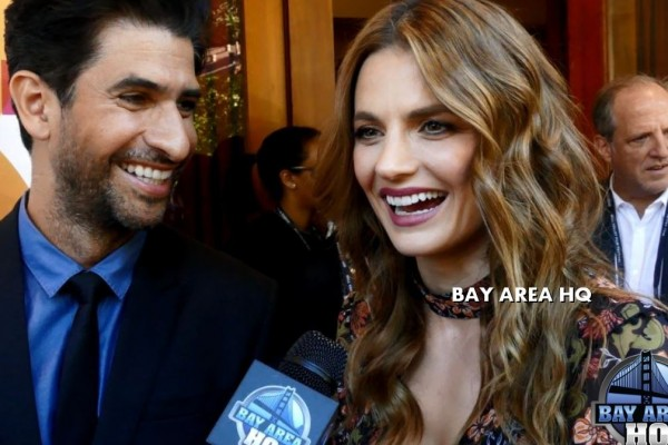 Stana Katic Raza Jaffrey The Rendezvous Interview Castle Deadpool 2 Domino Mill Valley Film Festival 39