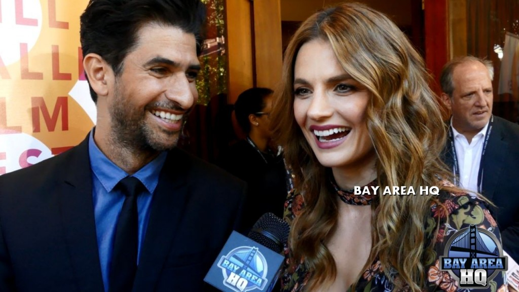 Stana Katic Raza Jaffrey The Rendezvous Castle Deadpool 2 Interview Mill Valley Film Festival