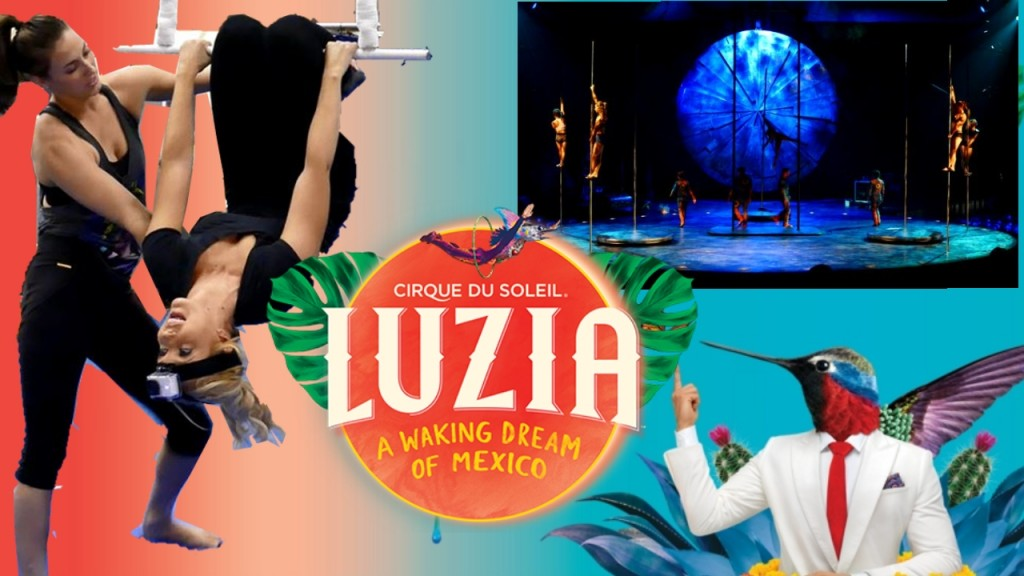 Luzia San Francisco Cirque Du Soleil San Jose Preview Review 2016 ATT Park Tickets
