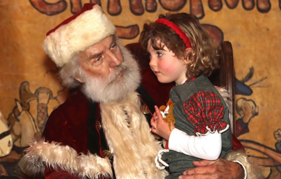 Dickens Fair Santa Pictures San Francisco
