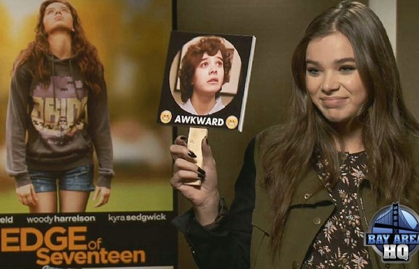 Hailee Steinfeld San Francisco The Edge of Seventeen Interview