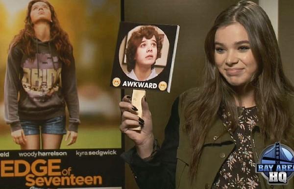 Hailee Steinfeld San Francisco The Edge of Seventeen Interview