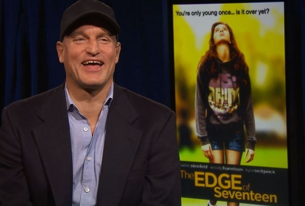 Woody Harrelson Interview The Edge of Seventeen San Francisco Bay Area 2016 Hailee Steinfeld