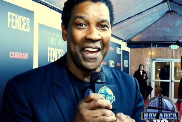Denzel Washington SF Golden State Warriors Fences Interview San Francisco Curran Theater 2016