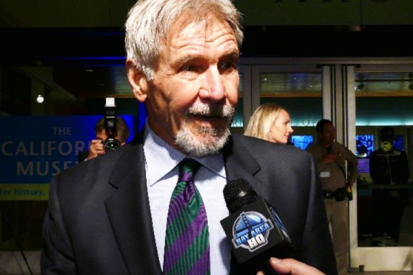 Harrison Ford California Hall Of Fame 2016 Sacramento Kids Elk Grove Star Wars The Force Awakens Bay Area San Francisco