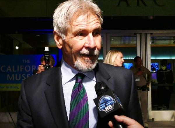 Harrison Ford California Hall Of Fame 2016 Sacramento Kids Elk Grove Star Wars The Force Awakens Bay Area San Francisco