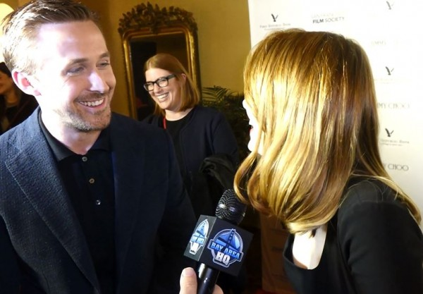 Ryan Gosling Emma Stone La La Land Interview 2016 San Francisco Damien Chazelle Oscars Academy Awards SF Film Society Honors