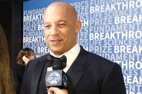 Vin Diesel Breakthrough Prize Awards San Francisco 2016 Fast and Furious XXX Return of Xander Cage 2017