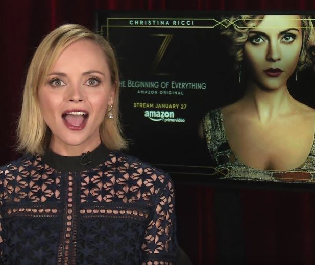 Addams Family Reboot Christina Ricci Z The Beginning of Everything Amazon San Francisco Interview 2017