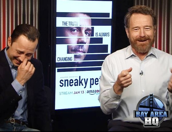 Bryan Cranston Streaking in Jack In A Box Drive Thru Sneaky Pete Giovanni Ribisi Interview