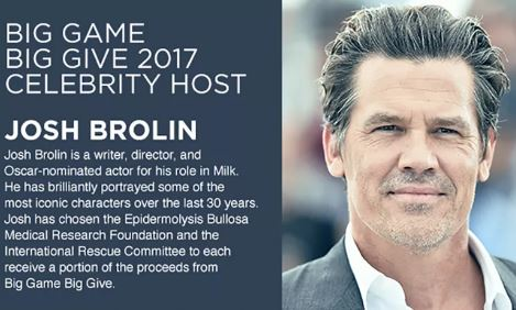 Big Game Big Give 2017 Super Bowl Party Josh Brolin Super Bowl Party Houston 2017-2017