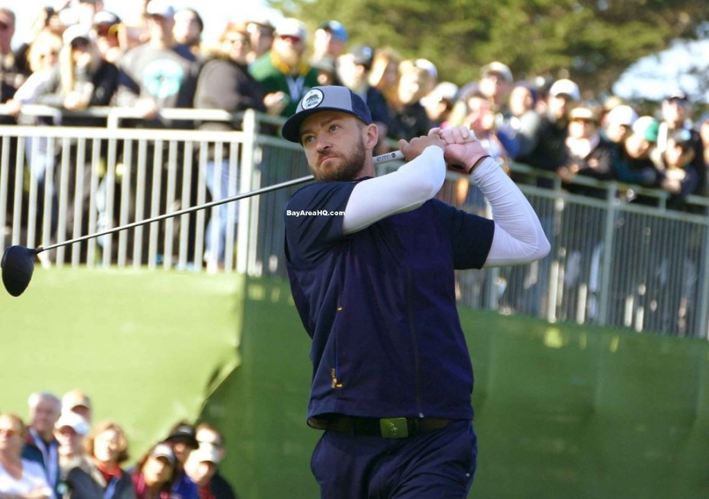AT&T Pebble Beach Pro-Am Justin Timberlake Bill Murray Aaron Rodgers Bill Bellicheck Kelly Rohrbach