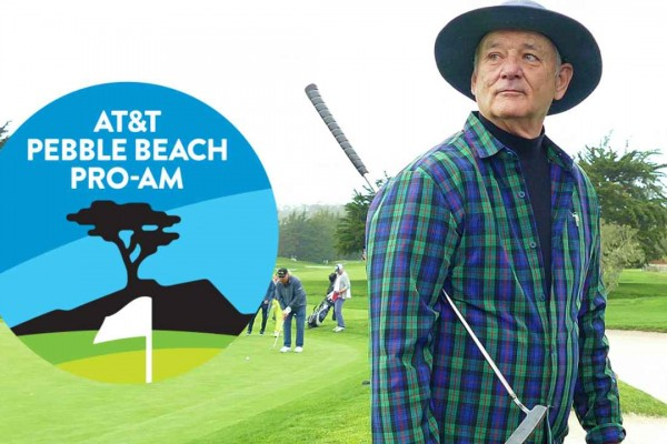 AT&T Pebble Beach Pro Am 2017 Bill Murray