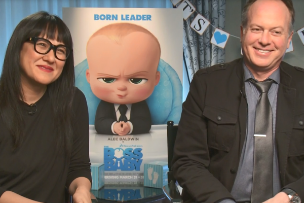 Boss Baby Trailer Tom McGrath Interview Ramsey Ann Naito San Francisco