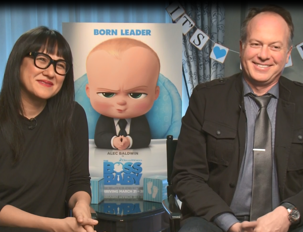 Boss Baby Trailer Tom McGrath Interview Ramsey Ann Naito San Francisco