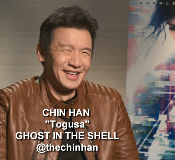 Chin Han Ghost in the Shell SF Interview Togusa