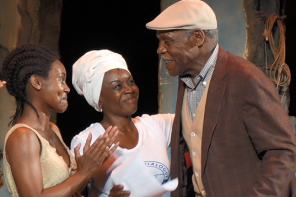 Danny Glover Addresses Students with 'Eclipsed' Cast
