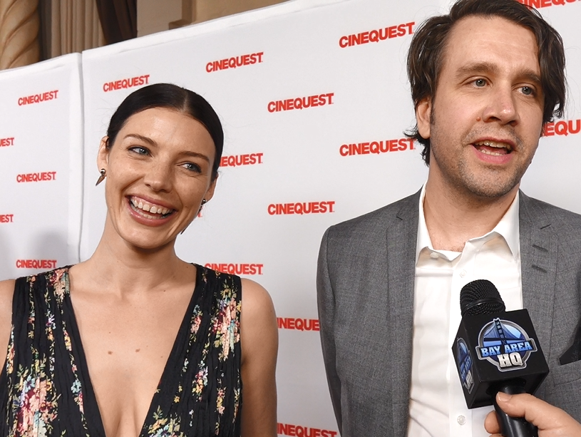 Jessica Paré Cinequest 2017 Interview Lovesick Tyson Caron