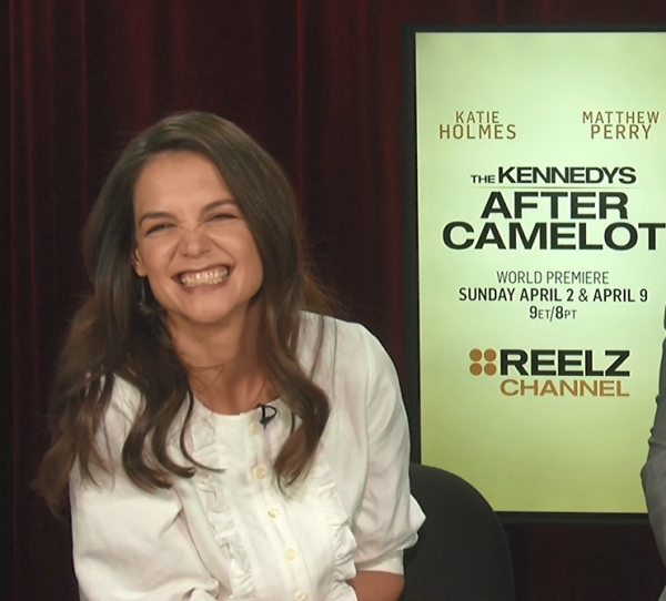 Katie Holmes After Camelot Interview San Francisco Matthew Perry 2017 Kennedys