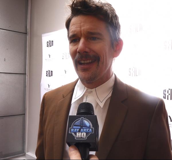 Ethan Hawke Interview San Francisco SF Film Festival Sam Shepard Ed Harris
