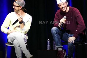 Grant Gustin Watch Top 12 Moments at The Flash panel