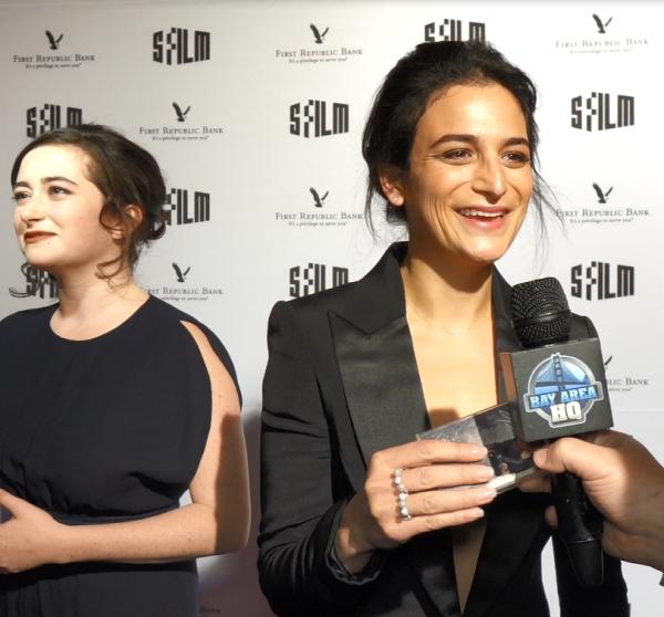 Jenny Slate Interview San Francisco Film Festival 2017 Abby Quinn Landline