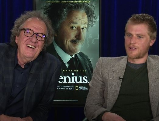 Johnny Depp Albert Einstein Geoffrey Rush Johnny Flynn Interview National Geographic