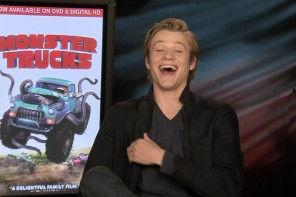 Lucas Till on Taylor Swift, Monster Trucks, MacGuyver