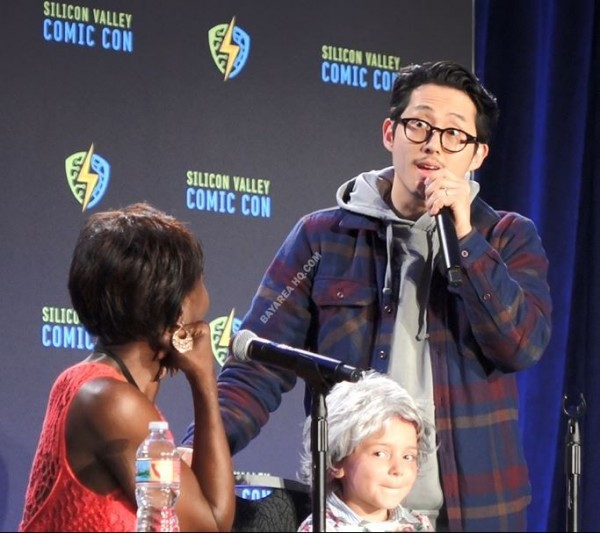 Steven Yeun Silicon Valley Comic Con SVCC 17 The Walking Dead Panel