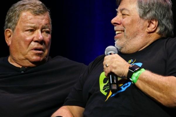 William Shatner Silicon Valley Comic Con 2017 Steve Wozniak SVCC