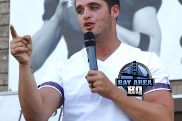 Derek Carr Oakland Raiders Preaches in Bakersfield Jesus Sermon 2017 Interview
