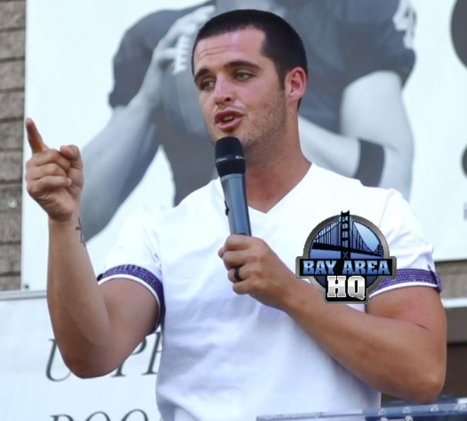 Oakland Raiders Derek Carr Preaches in Bakersfield Jesus Sermon 2017 Interview