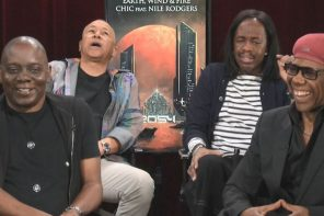 Earth Wind and Fire w/ Nile Rodgers talk Biopics & more