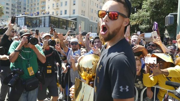 Steph Curry Warriors Parade Ayesha Curry