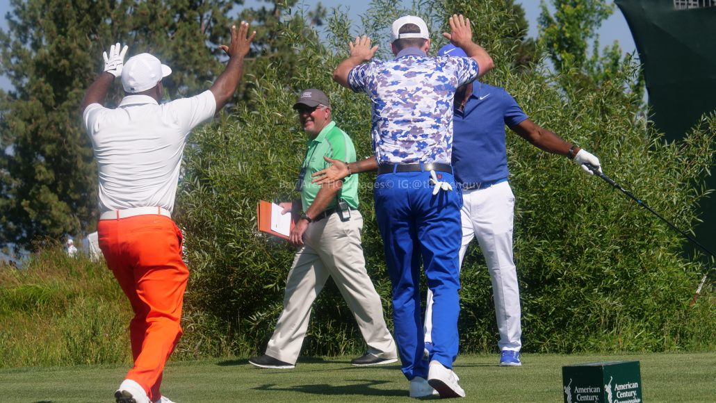American Century Championship 2017 Images - Justin Timberlake, Stephen Curry, Tony Romo, Aaron Rodggers, Charles Barkley149