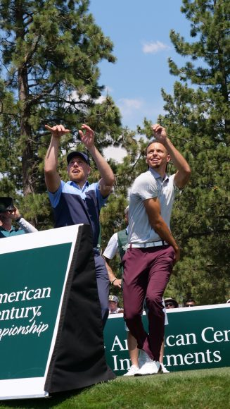 American Century Championship 2017 Images - Justin Timberlake, Stephen Curry, Tony Romo, Aaron Rodggers, Charles Barkley231