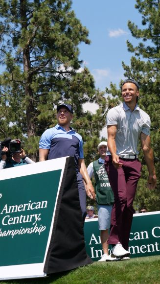 American Century Championship 2017 Images - Justin Timberlake, Stephen Curry, Tony Romo, Aaron Rodggers, Charles Barkley233
