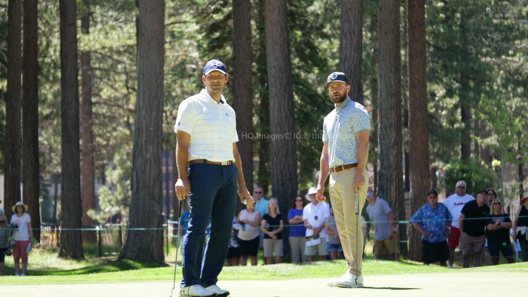 American Century Championship 2017 Images - Justin Timberlake, Stephen Curry, Tony Romo, Aaron Rodggers, Charles Barkley25