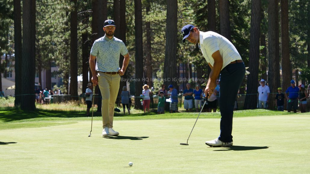American Century Championship 2017 Images - Justin Timberlake, Stephen Curry, Tony Romo, Aaron Rodggers, Charles Barkley26