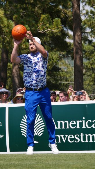 American Century Championship 2017 Images - Justin Timberlake, Stephen Curry, Tony Romo, Aaron Rodggers, Charles Barkley270