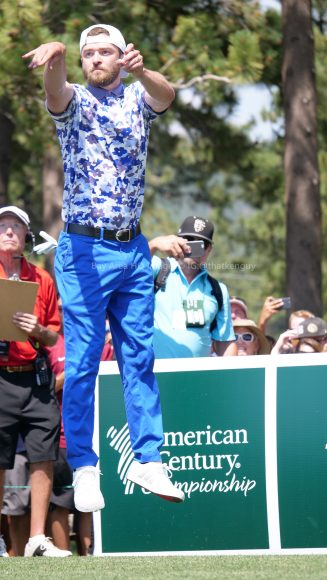 American Century Championship 2017 Images - Justin Timberlake, Stephen Curry, Tony Romo, Aaron Rodggers, Charles Barkley274