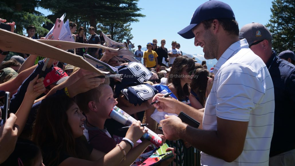 American Century Championship 2017 Images - Justin Timberlake, Stephen Curry, Tony Romo, Aaron Rodggers, Charles Barkley38