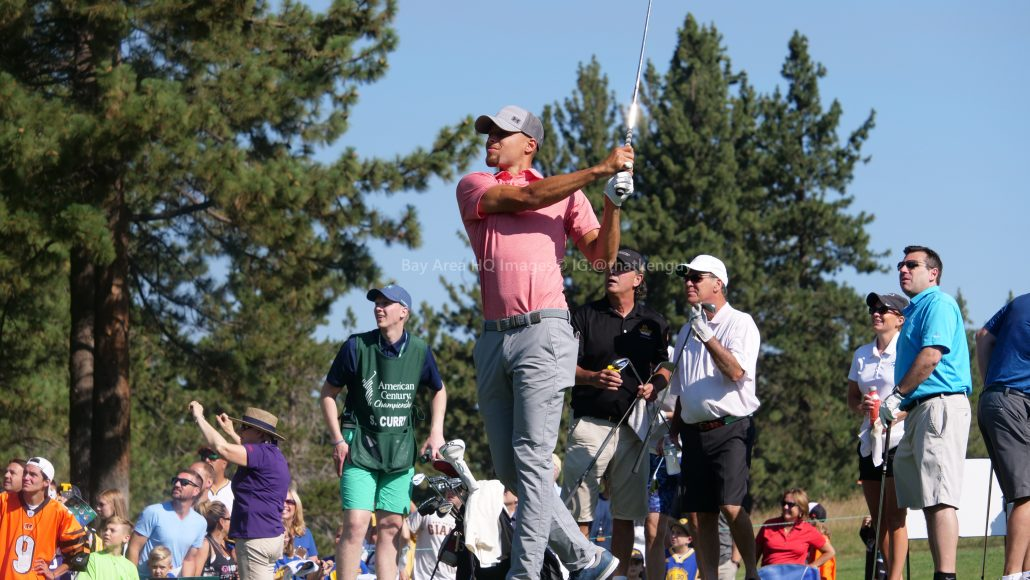 American Century Championship 2017 Images - Justin Timberlake, Stephen Curry, Tony Romo, Aaron Rodggers, Charles Barkley41