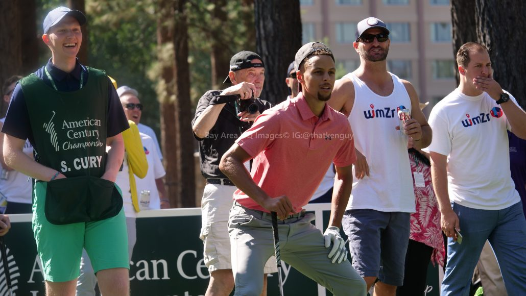 American Century Championship 2017 Images - Justin Timberlake, Stephen Curry, Tony Romo, Aaron Rodggers, Charles Barkley45