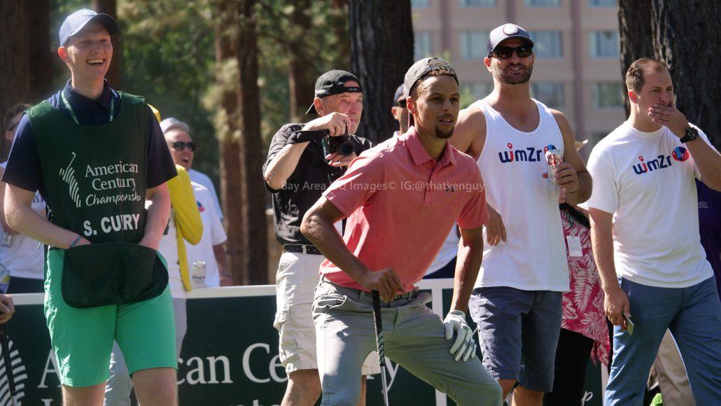 American Century Championship 2017 Images - Justin Timberlake, Stephen Curry, Tony Romo, Aaron Rodggers, Charles Barkley45