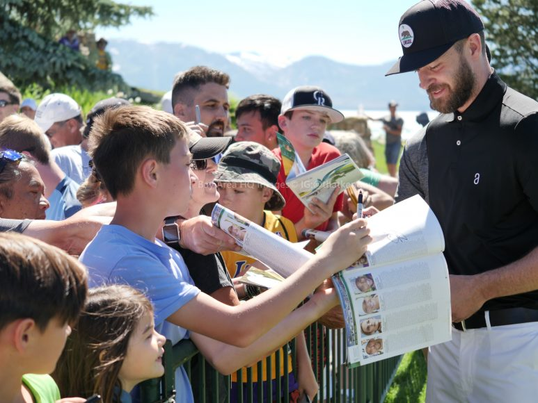 American Century Championship 2017 Images - Justin Timberlake, Stephen Curry, Tony Romo, Aaron Rodggers, Charles Barkley5