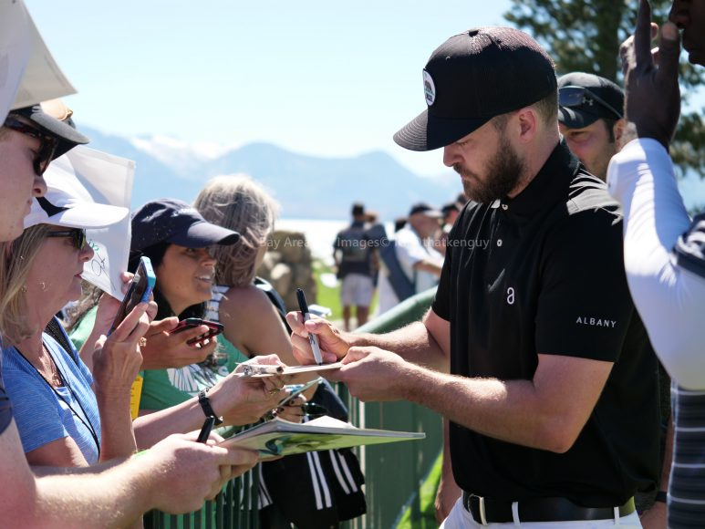 American Century Championship 2017 Images - Justin Timberlake, Stephen Curry, Tony Romo, Aaron Rodggers, Charles Barkley6