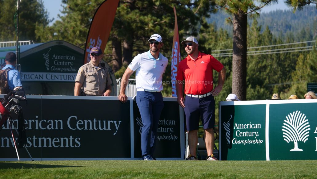 American Century Championship 2017 Images - Justin Timberlake, Stephen Curry, Tony Romo, Aaron Rodggers, Charles Barkley92